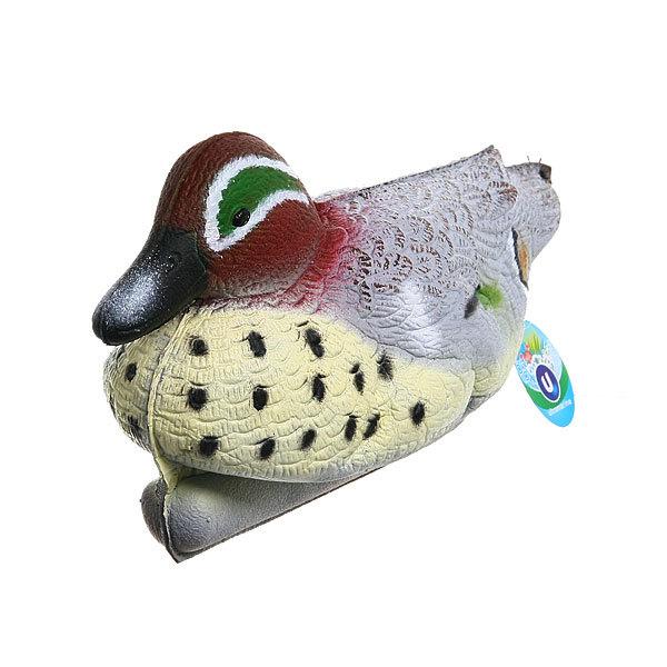 Фигура садовая плавающая Утка 33х17см 020 купить оптом и в розницу