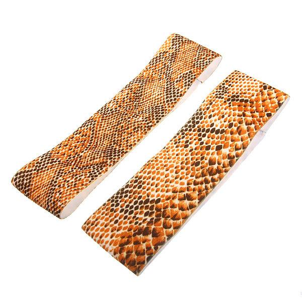 Резинка - полоска на голову ″Змея″, цвет микс 19*4,5см купить оптом и в розницу