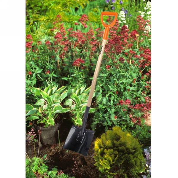 Лопата садовая с закругл.лезвием (131650) FISKARS купить оптом и в розницу