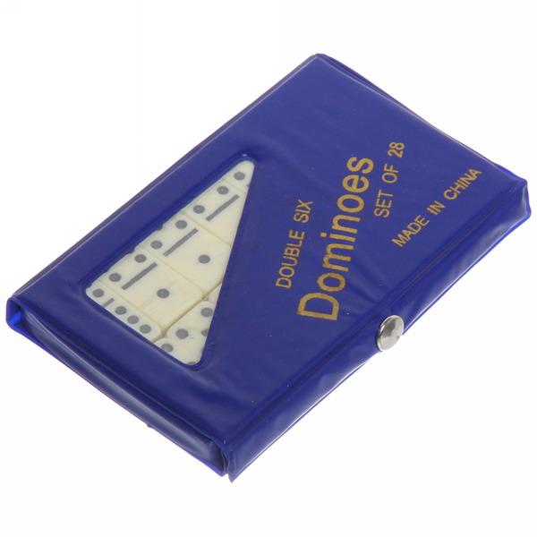 Игра настольная Домино 4006P Пенал ПВХ купить оптом и в розницу