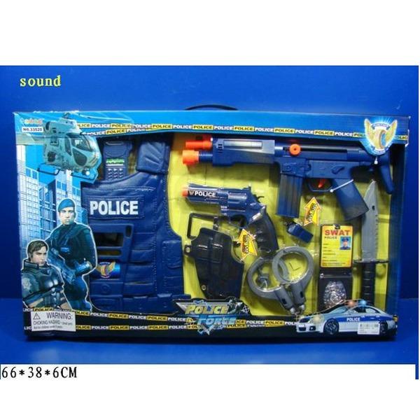 Набор полицейского 33520 со звук.в кор. купить оптом и в розницу