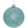 Новогодние шары ″Ледовый городок″ 8см (набор 2шт.) купить оптом и в розницу