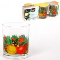 Набор стаканов 3шт 200мл ″Новогодняя феерия″ купить оптом и в розницу