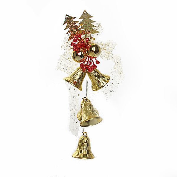 Украшение новогоднее Колокольчики″ 26см 6435 купить оптом и в розницу