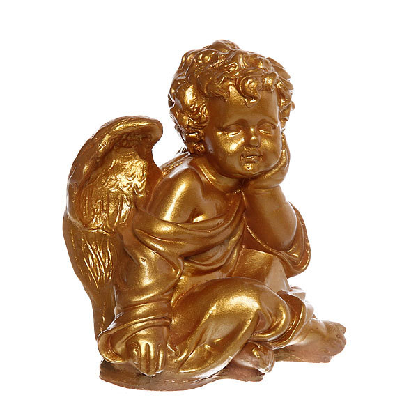 Фигурка Ангел маленький (золото) 18 см. купить оптом и в розницу