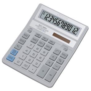 Калькулятор CITIZEN настольный 12раз белый 203,2*158*31мм купить оптом и в розницу