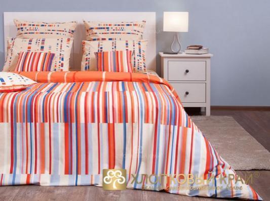 2.0 бязь-люкс Кембридж оранж/1 нав.50x70 Хлопковый Край  купить оптом и в розницу