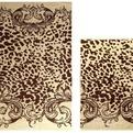 ПЦ-2602-1941 полотенце 50x90 махр п/т Leopardo цв.10000  купить оптом и в розницу