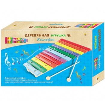 Дер. Ксилофон 12 тонов ИД-9237 купить оптом и в розницу