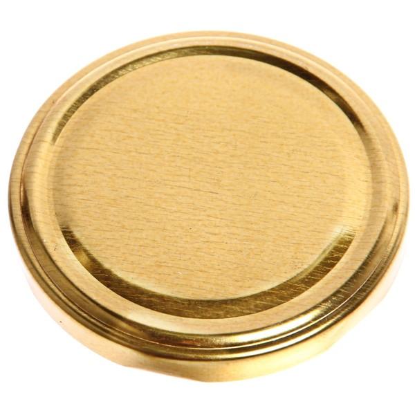 Крышка винтовая d 82мм лакированная ″Золотая Елабуга″ купить оптом и в розницу