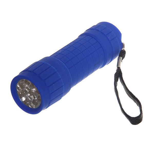 Фонарь ручной пластик малый, цвет микс,9 LED 1W 3ААА купить оптом и в розницу