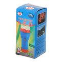 Фонарь ручной пластик средний оранжево-синий, 1 LED 1W 1*R20 купить оптом и в розницу
