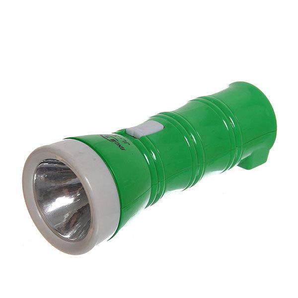 Фонарь ручной 1 LED 1W 180 LUM 3AAA, вилка 220, цвет микс купить оптом и в розницу