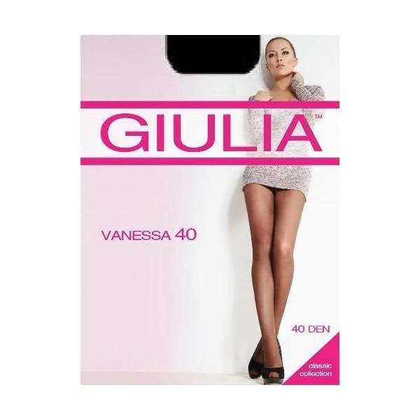 Колготки женские GIULIA / VANESSA 40 nero 2 (черный), со штанишками и укрепленным мыском купить оптом и в розницу