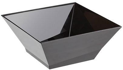 """Салатник """"Domino Kvadro"""" 1,4 л (черный) *40 купить оптом и в розницу"""