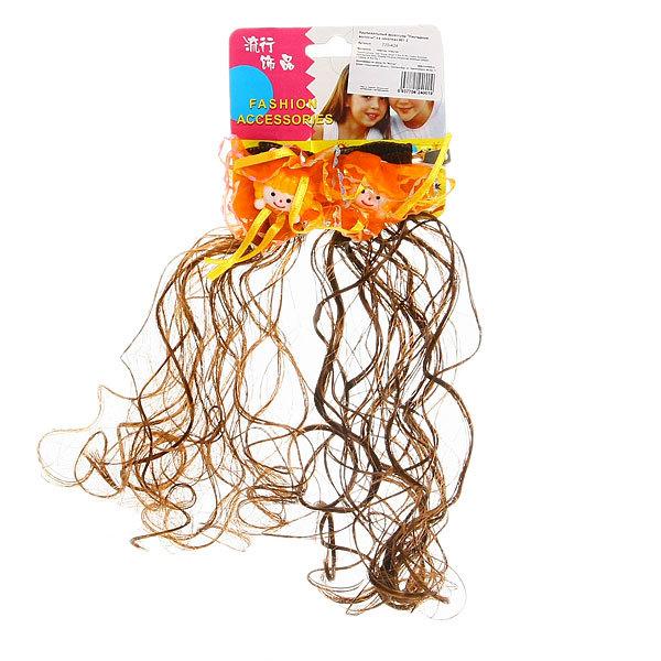 Волосы накладные ″Накладные волосы″ на заколках 001-2 (цена за блистер) купить оптом и в розницу
