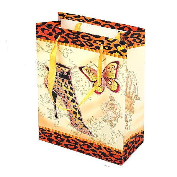 Пакет подарочный ″Модный″ 32*26*10 купить оптом и в розницу