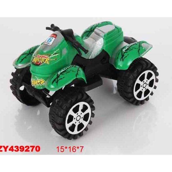 Машина инерц. 886-1 Квадроцикл  в пакете купить оптом и в розницу