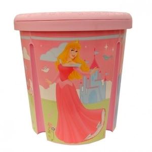 Контейнер круглый DISNEY PRINCESS розовый Curver (39*39*40/6 шт (393х393х401)мм купить оптом и в розницу