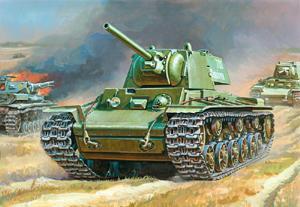 Сб.модель 3539 Танк КВ-1 купить оптом и в розницу