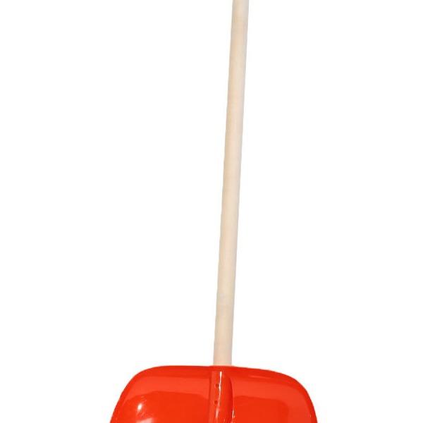 Лопата (скребок) д/снега 470*300 с черенком 1/3 купить оптом и в розницу
