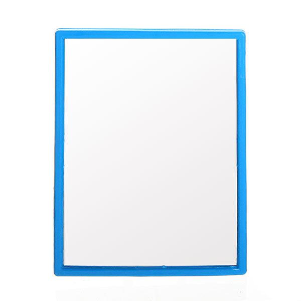 Зеркало настольное в пластиковой оправе ″Классика″ прямоугольник, подвесное 9,5*7см купить оптом и в розницу