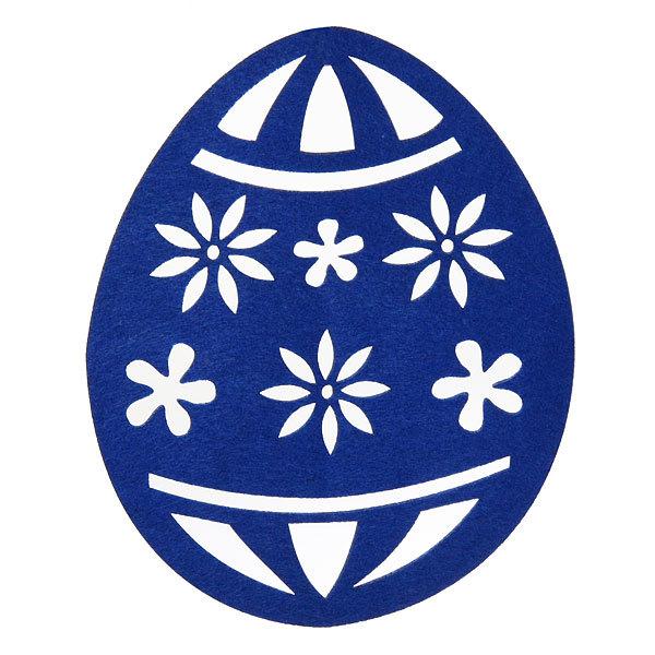 Салфетка на стол 26*21см Ажурная, Яйцо пасхальное купить оптом и в розницу