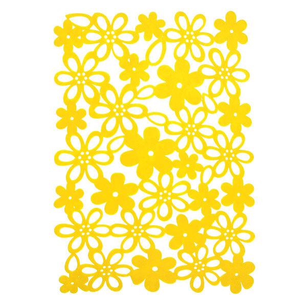 Салфетка на стол 45*30см Ажурная, Цветочки купить оптом и в розницу