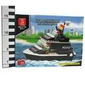 Констр-р 38-1700 Корабль полиция в кор. 98 дет. купить оптом и в розницу