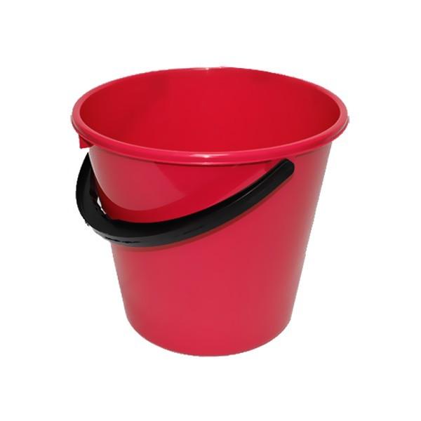 Ведро 7л Примула красное купить оптом и в розницу