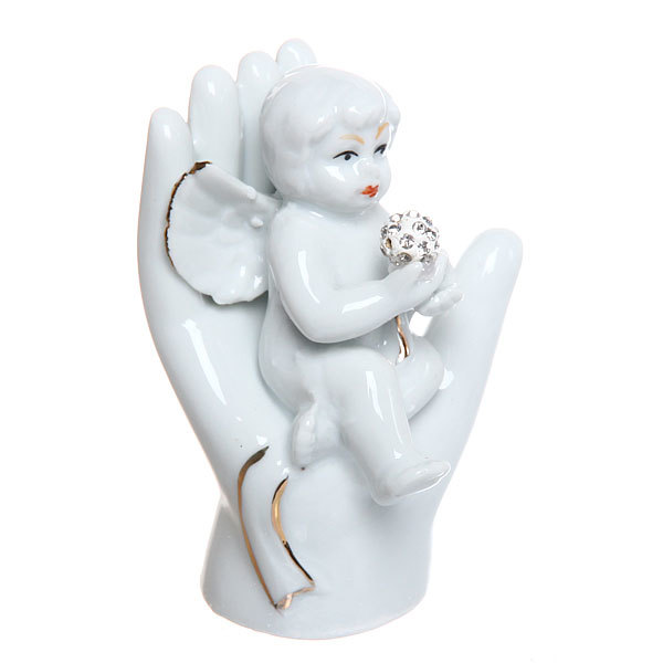 Фигурка ″Ангелочек на ладошке″ 8,5 см купить оптом и в розницу