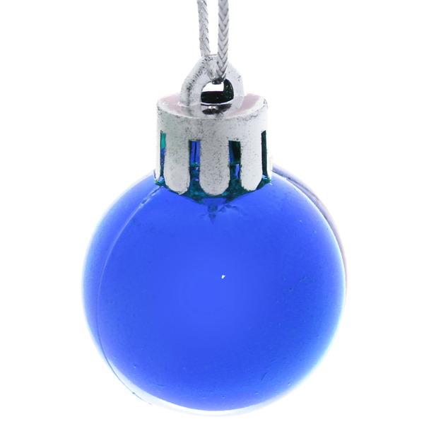 Новогодние шары ″Блеск″ 3 см (набор 12 шт,) купить оптом и в розницу