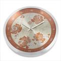 Часы настенные металл ″Розы″ d-32см 9215 купить оптом и в розницу