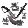 Секира+кинжал+фигурки воинов 50026 Плейдорадо купить оптом и в розницу