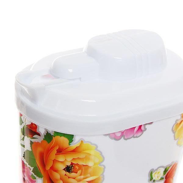 Кувшин пластиковый 1,5л ″Цветочный микс″ купить оптом и в розницу