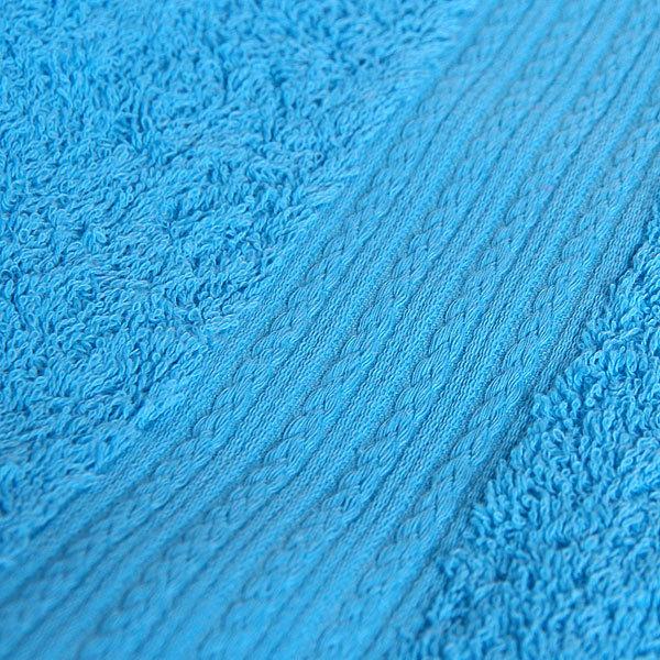 Махровое полотенце 70*140см бирюзовое ЭК140 Д01 купить оптом и в розницу