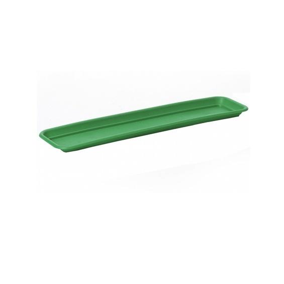 Поддон для балконного ящика 60 см темно-зеленый   *20 купить оптом и в розницу