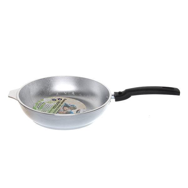 Сковорода 22 см литой алюминий со съемной ручкой КМ-с222 купить оптом и в розницу