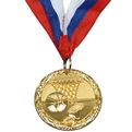 Медаль ″ Баскетбол ″- 1 место (4,5см) купить оптом и в розницу
