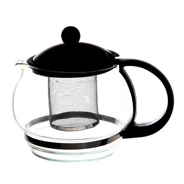 Чайник заварочный стеклянный 800 мл купить оптом и в розницу