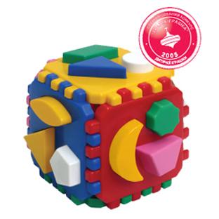 Логич.игрушка Куб умный малыш 458 интелком купить оптом и в розницу