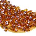 Воротничок ″Жемчужный шик стразики″, цвет коричневый купить оптом и в розницу