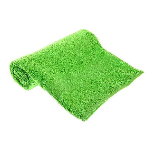 Махровое полотенце 50*90см салатовое ЭК90 Д01 купить оптом и в розницу