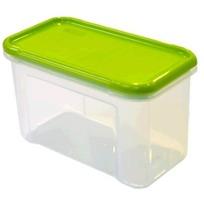 Банка для сыпучих продуктов Krupa  0,75 л оливковый*21 купить оптом и в розницу
