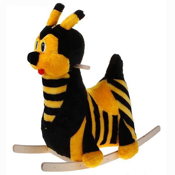 Качалка 129А Пчелка муз. купить оптом и в розницу