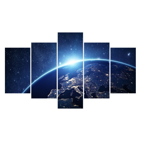 Картина модульная полиптих 75*130 Космос диз.3 30-02 купить оптом и в розницу
