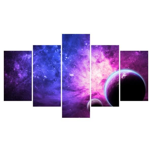 Картина модульная полиптих 75*130 Космос диз.4 31-02 купить оптом и в розницу