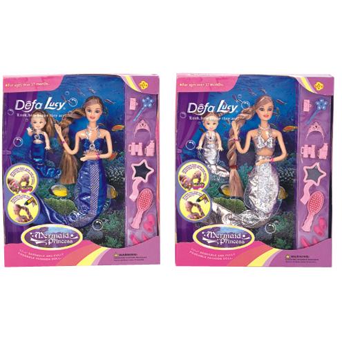 Кукла 20978 Русалка с аксесс. в кор. Defa Lusy купить оптом и в розницу