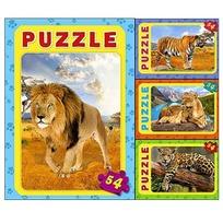 Пазл 54 Дикие животные П54-6334 купить оптом и в розницу