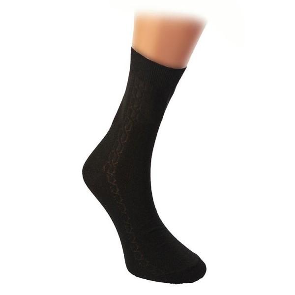 Носки мужские с-104 р-р черные 31, хлопок 80% купить оптом и в розницу